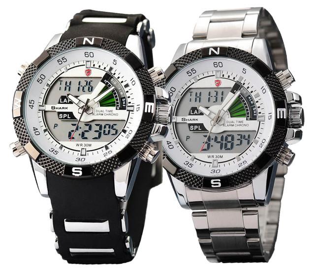 Кварцевые наручные часы Shark Porbeagle - 8 вариантов