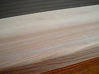 Деревянные ступени из ясеня 900х300х40 цельноламельные, фото 1