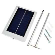 Світильники на сонячній батареї і гирлянди