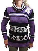 Женский свитер вяхзаный, фото 1