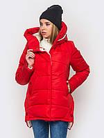 Зимняя женская куртка утепленная Мерседес-2 на силиконе
