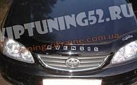 Дефлектор капота Vip Tuning на TOYOTA Avensis седан с 1997-2002 г.в