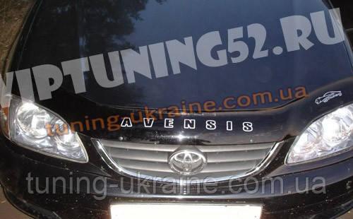 Дефлектор капота Vip Tuning на TOYOTA Avensis седан с 1997-2002 г.в - ООО Tuning Avto в Харькове