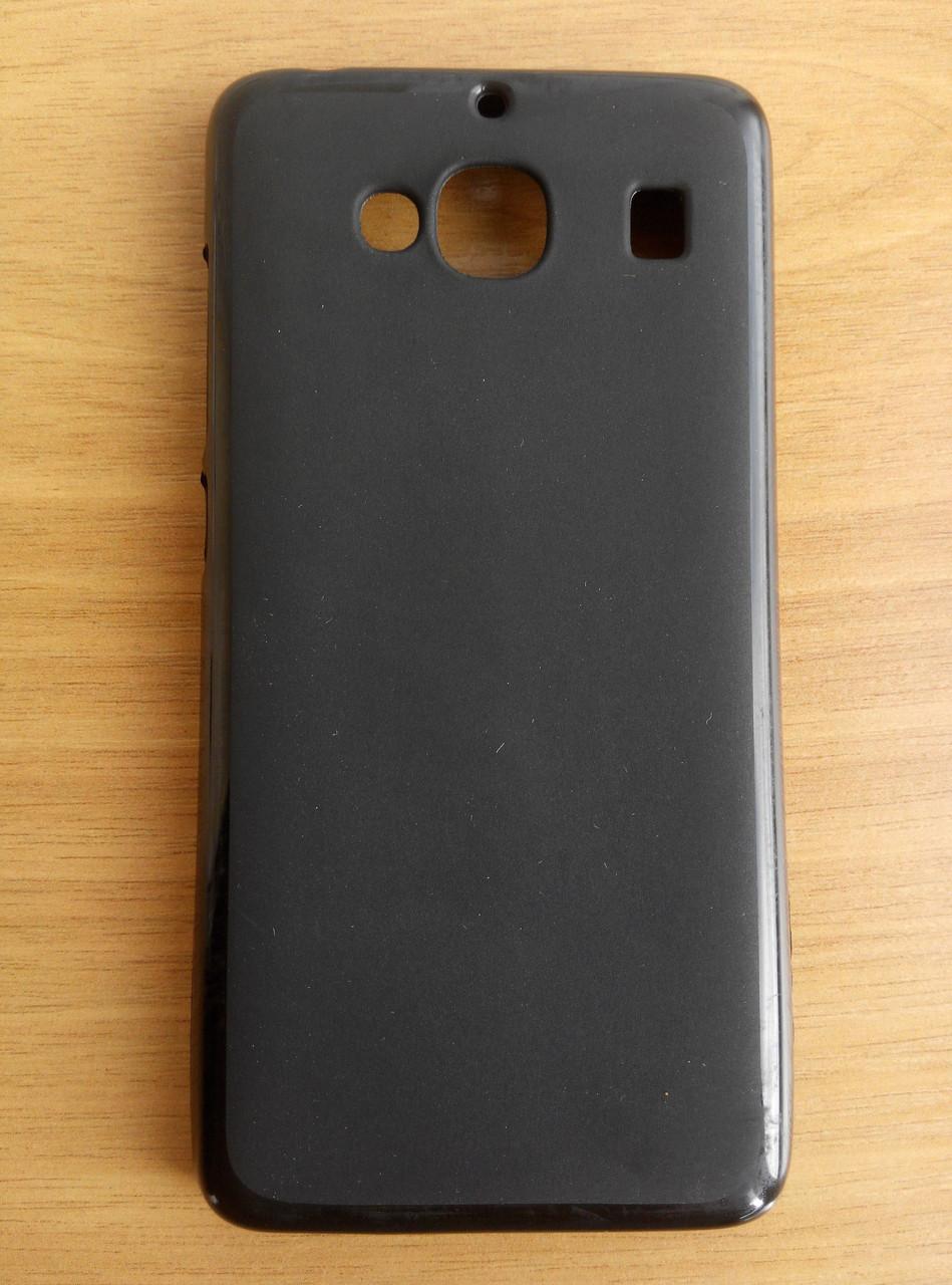 Силикон чехол черный матовый Xiaomi Redmi 2