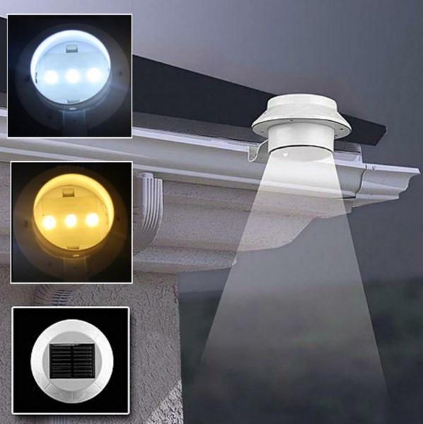 Сонячний LED зовнішній світильник із сонячною панеллю 3 LED