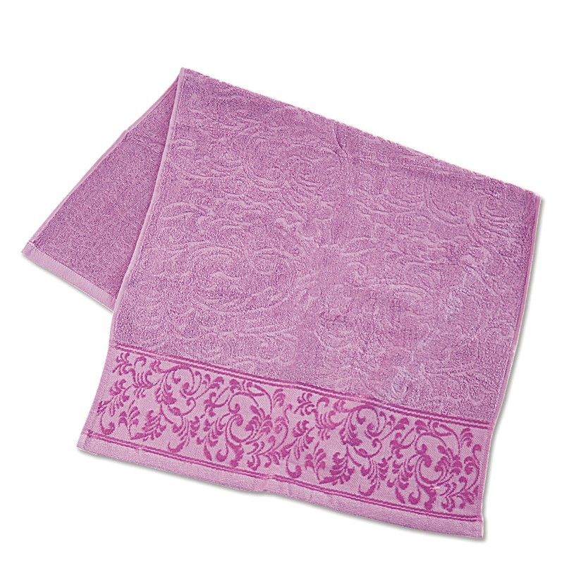 Махровое полотенце с отделкой ТМ Ярослав, 70х140 см