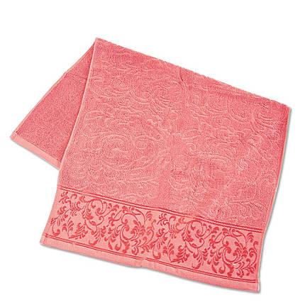 Набор махровых полотенец с отделкой ТМ Ярослав 3 шт (40х70, 50х90, 70х140 см) в упаковке, фото 2