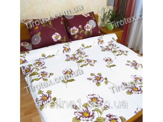 Комплект постельного белья из хлопка Семейный