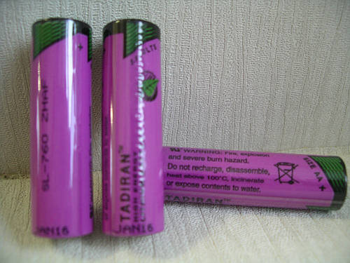 Батарейка Tadiran AA SL-760/s Lithium 3.6V