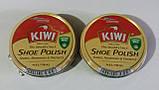 Крем для обуви Kiwi Киви оригинал бесцветный шайба, фото 2