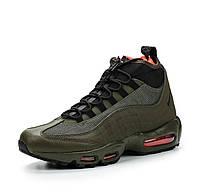 "Ботинки Nike  Air Max 95 Sneakerboots ""Green/Red"", фото 1"