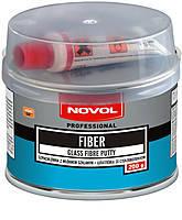 Шпаклівка Novol FIBER 1222 стекловолокно 0,6 кг
