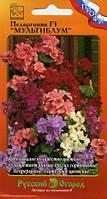 Семена Пеларгония Мультиблум F1 смесь 5 семян Русский Огород, фото 1