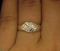 Кольцо серебро 925 проба 17 размер №1141