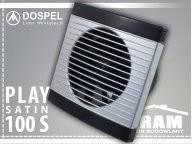 Вентилятор бытовой DOSPEL PLAY Satin 100 S