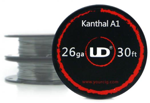 Кантал А1, нихром, никель, сталь (UD фирменный в катушках)