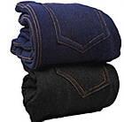 Лосины - леггинсы под джинсы внутри мех KENALIN 9401 чёрные 2 кармана сзади L/XL размер ЛЖЗ-12117, фото 2