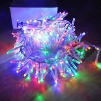 Новогодняя светодиодная гирлянда цвет мульти 400Led, фото 1