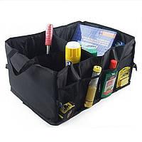 Топ товар!  Сумка-органайзер для автомобиля в багажник Smart Trunk Organizer