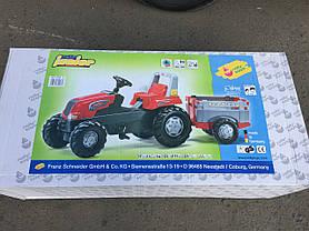 Трактор Педальный с Прицепом Junior Rolly Toys 800261, фото 2