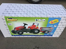 Трактор Педальный с Прицепом Junior Rolly Toys 800261, фото 3