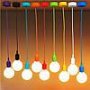Современный подвесной светильник под абажур 12 цветов стиль №1