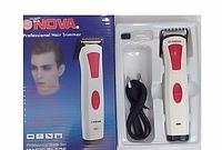 Машинка для стрижки волос NOVA NHC 408, электротриммер универсальный, триммер для волос