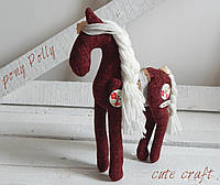 Мягкая лошадка Pony Polly handmade
