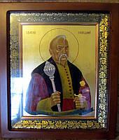 Икона писаная Святого Праведного Петра Калнышевского