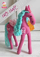 Пони мягкая игрушка Pony princess  handmade
