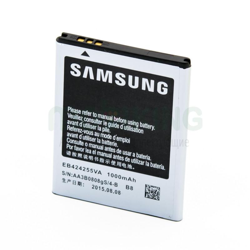 Оригинальная батарея на Samsung S3850 (EB-424255VU) для мобильного телефона, аккумулятор.