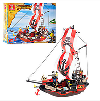 Детский конструктор SLUBAN 619932/M 38 B 0127 Пираты, 379 дет