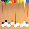 Современный подвесной светильник под абажур 12 цветов стиль №2