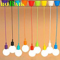Современный подвесной светильник под абажур 12 цветов стиль №2, фото 1