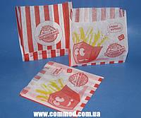 Упаковка бумажная для Картофеля Фри 130 х 120 х 50 мм с рисунком 1000 штук арт. 7.250