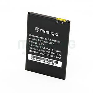 Батарея оригинал Prestigio PAP3400 для мобильного телефона, аккумулятор.