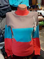 Женский свитер стойка