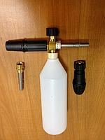 Пенная насадка с литровой емкостью, штекер KW (Италия)