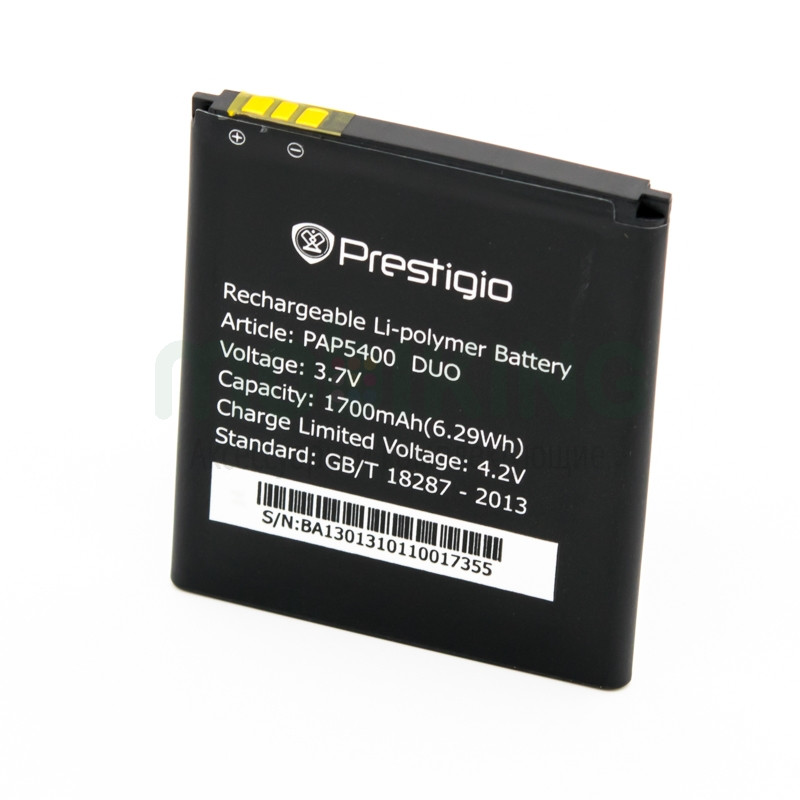 Батарея оригинал Prestigio PAP5400 для мобильного телефона, аккумулятор.