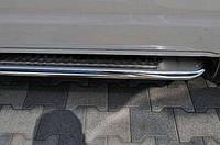 Пороги боковые Mercedes sprinter 906 (мерседес спринтер 906) база LONG, d60, нерж. premium