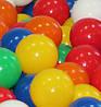 Шарики для сухих бассейнов, игровых комнат, манежов, палаток из пищевого полиетилена 8 см.