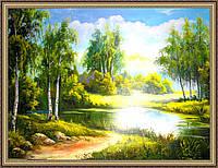 Картина в багетной раме Летний день 500х700 мм №317