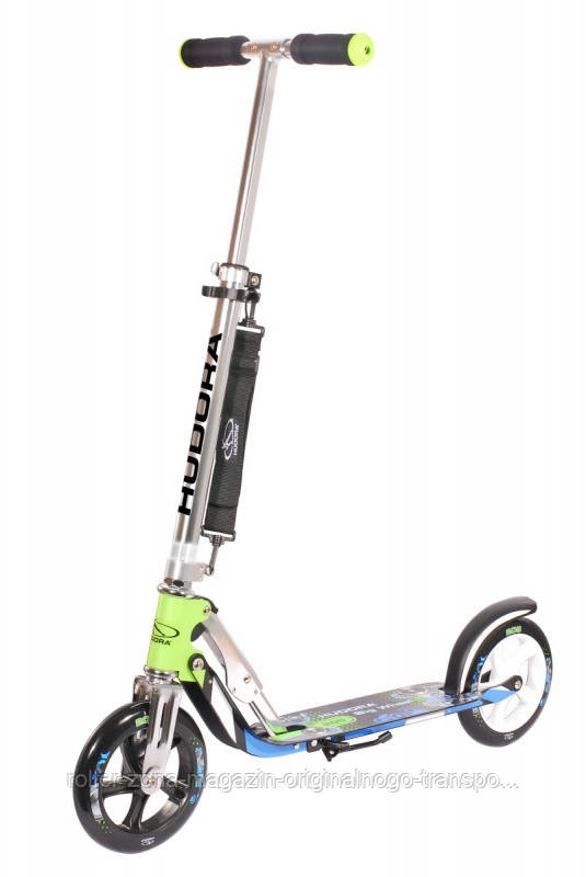 Самокат HUDORA Big Wheel 205 green blue