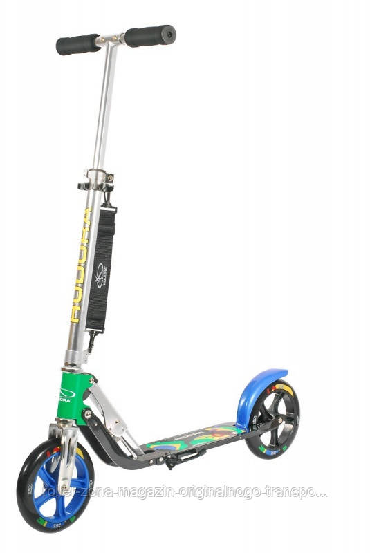 Самокат HUDORA Big Wheel 205 Brazil