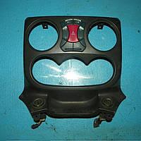 Б/у накладка торпеды, консоли центральная с блоком кнопок Fiat Doblo 2000-2009