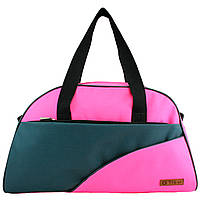 Сумки фитнес Tiger спортивная сумка  серо-розовая