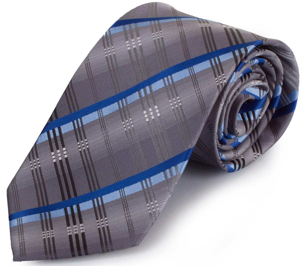 Привабливий чоловічий широкий галстук SCHONAU & HOUCKEN (ШЕНАУ & ХОЙКЕН) FAREPS-77 різнобарвний