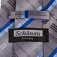 Привабливий чоловічий широкий галстук SCHONAU & HOUCKEN (ШЕНАУ & ХОЙКЕН) FAREPS-77 різнобарвний, фото 3