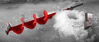 Ледобур АйДабур (iDabur) твин 130мм, фото 1