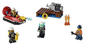LEGO CITY Набор для начинающих Пожарная охрана Fire Starter Set 60106